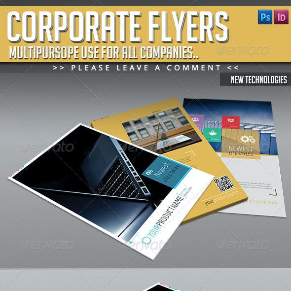Corporate Flyer Pack - New Technology Flyers