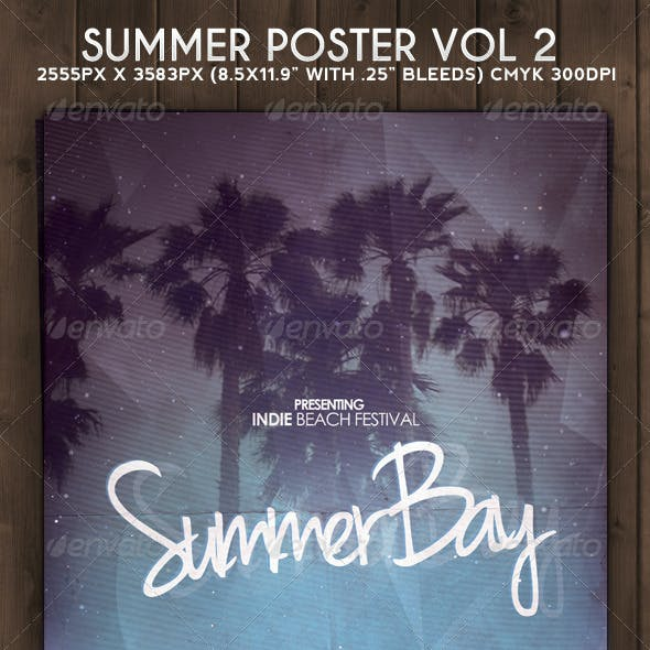 Summer Flyer Poster