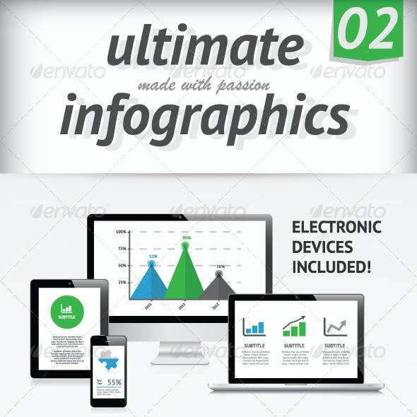 Ultimate Infographics Elements 02 Set Vector