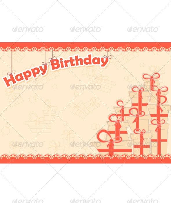 Greeting Card for Birthday - Birthdays Seasons/Holidays