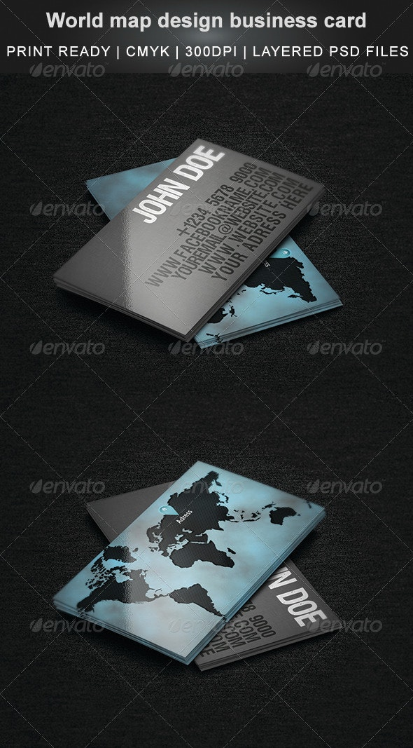 World Map Design Business Card on wedding maps, social media maps, wallpaper maps, business map maker, full page maps, business cards old world, envelope maps, tract maps,