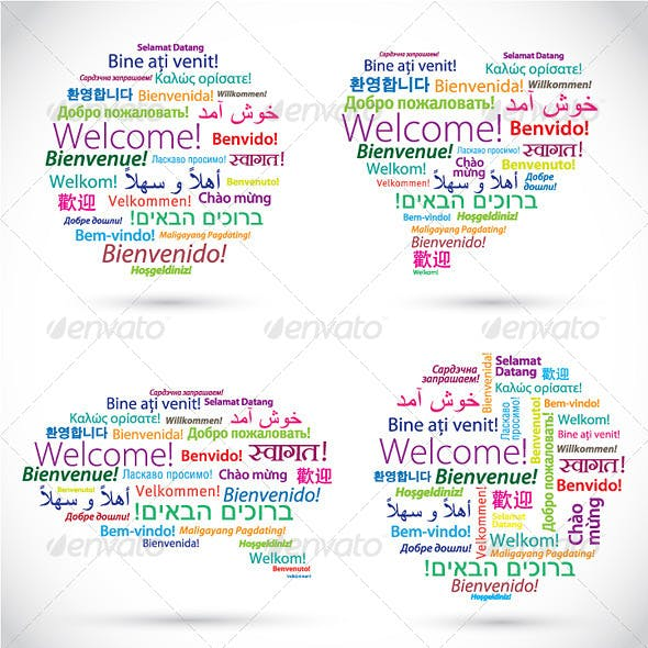 Words Welcome in Different Languages