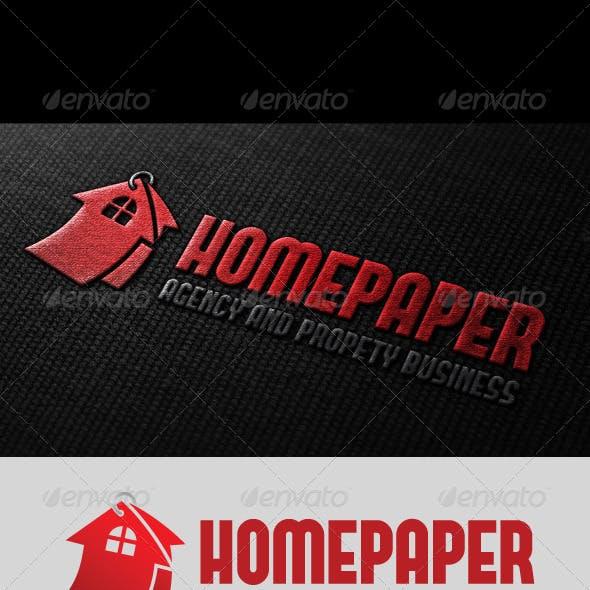 Home Paper Logo