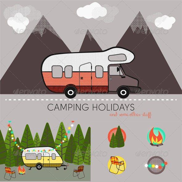 Camping Holidays...