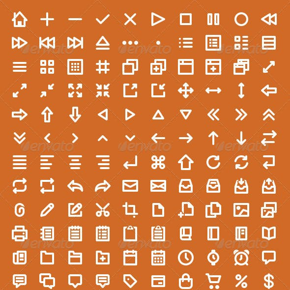 Wirecons Vector Icons