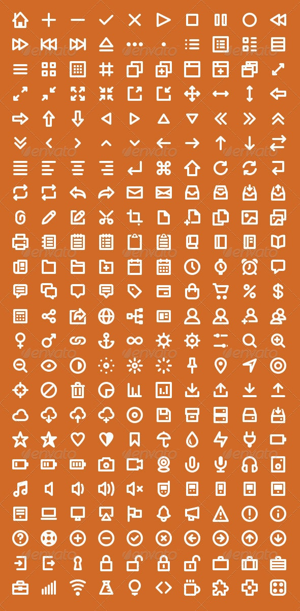 Wirecons Vector Icons - Icons
