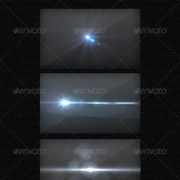 7 High Resolution Optical Flares