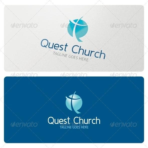 Quest Church Logo Template