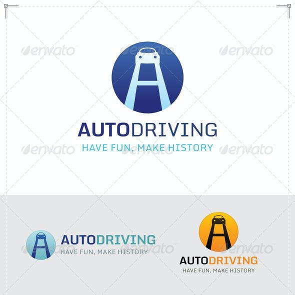 Auto Driving Logo