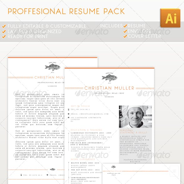 Professional Resume Pack