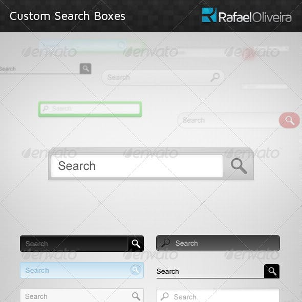 Custom Search Boxes