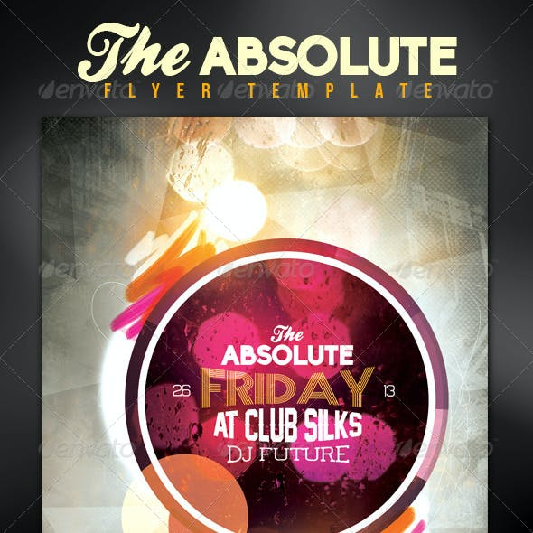 Absolute Nightclub/Party Flyer