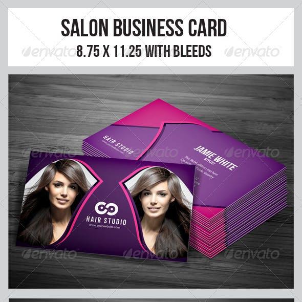 Salon Business Card Vol.4