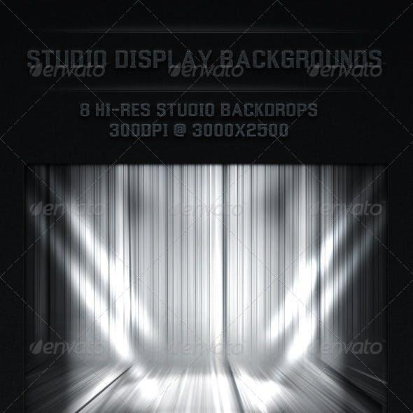 Studio Back Drop Spot Light Backgrounds