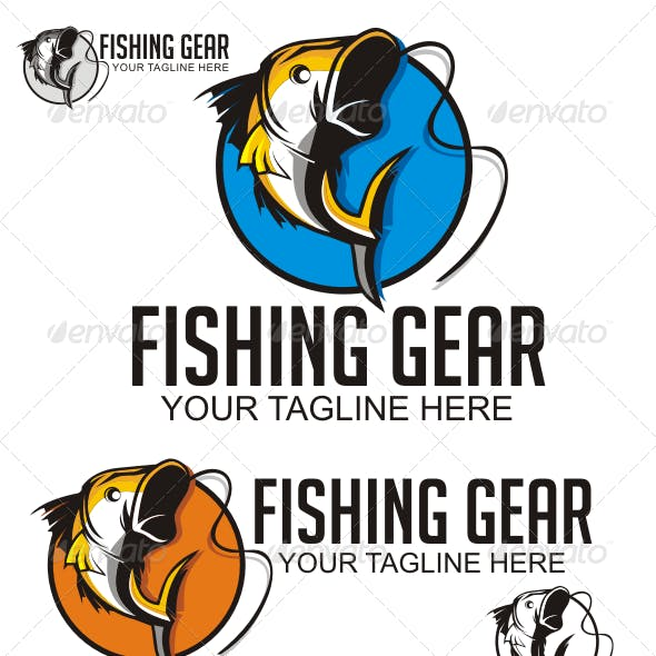 Fishing Gear Logo