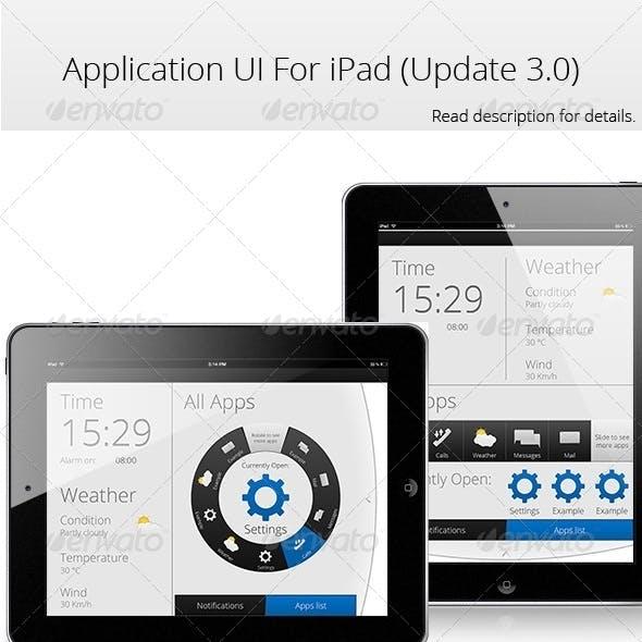 App UI For Ipad