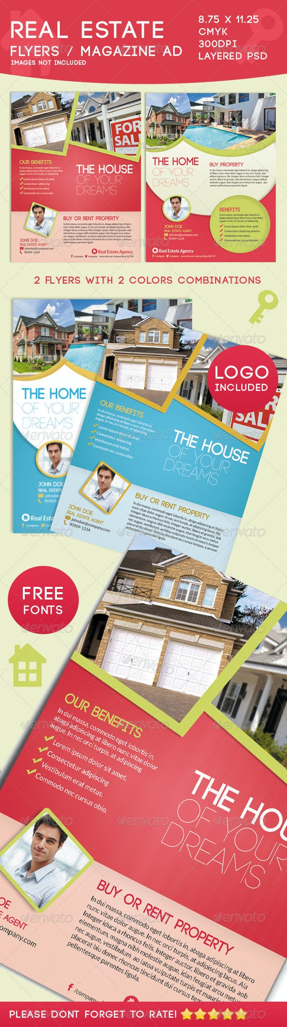 Real Estate Flyers - Corporate Flyers