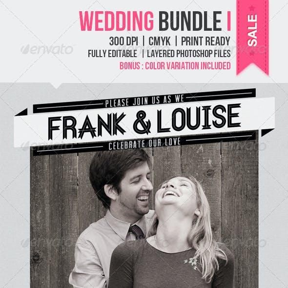 Wedding Bundle I