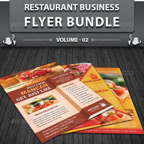 Restaurant Business Flyer | Bundle 2