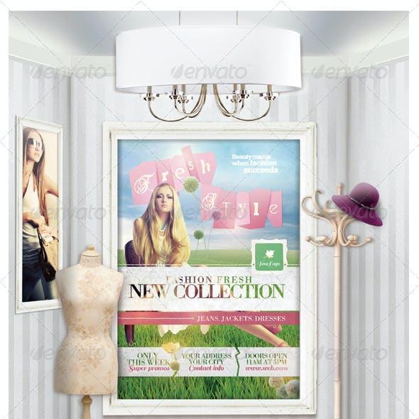 Fashion & Sale Mock-Up