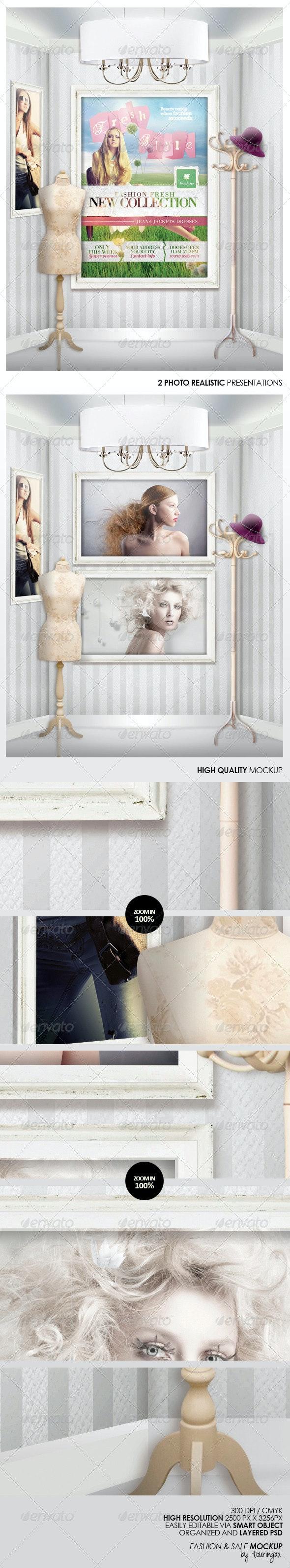 Fashion & Sale Mock-Up - Miscellaneous Print