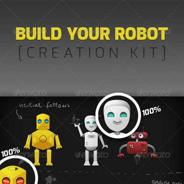 Build Your Robot - Robotic Creation Kit
