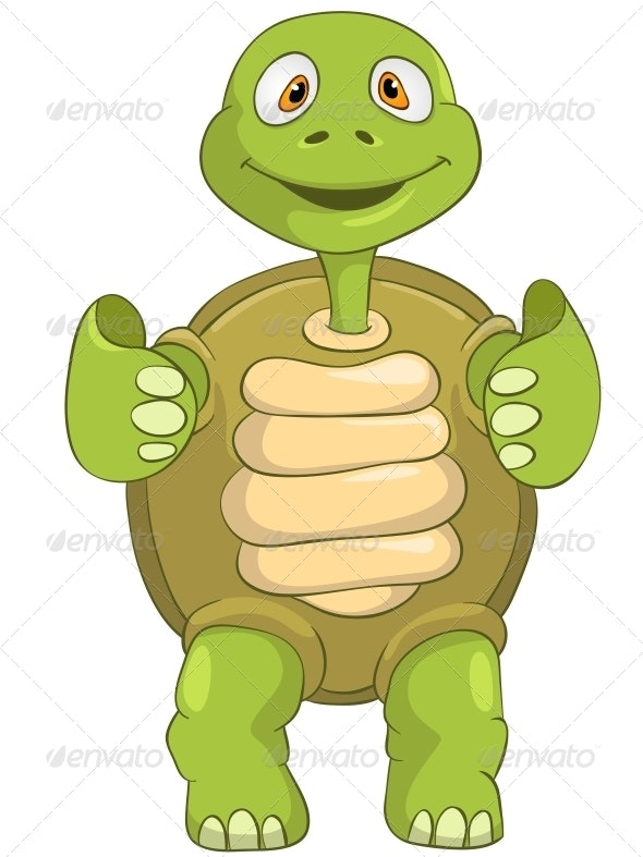 Turtle Funky - Animals Characters