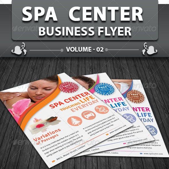 Spa & Beauty Saloon Flyer   Volume 6