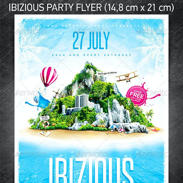 Ibizious Party Flyer