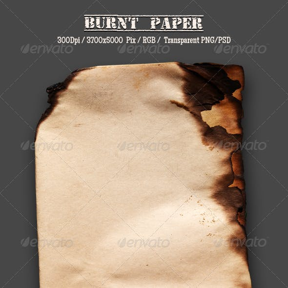 Burnt Old Paper 16