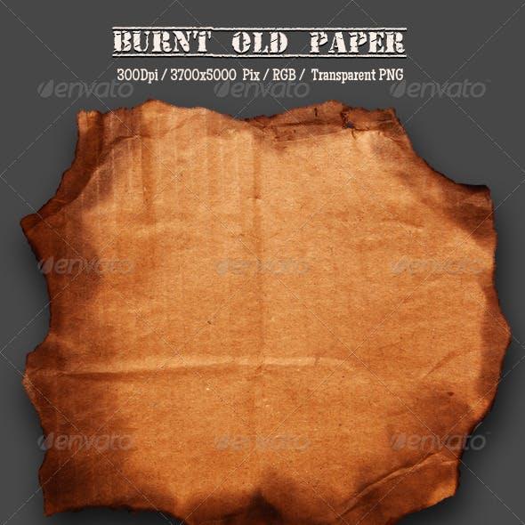 Burnt Cardboard 3