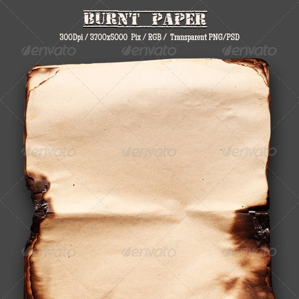 Burnt Old Paper 15