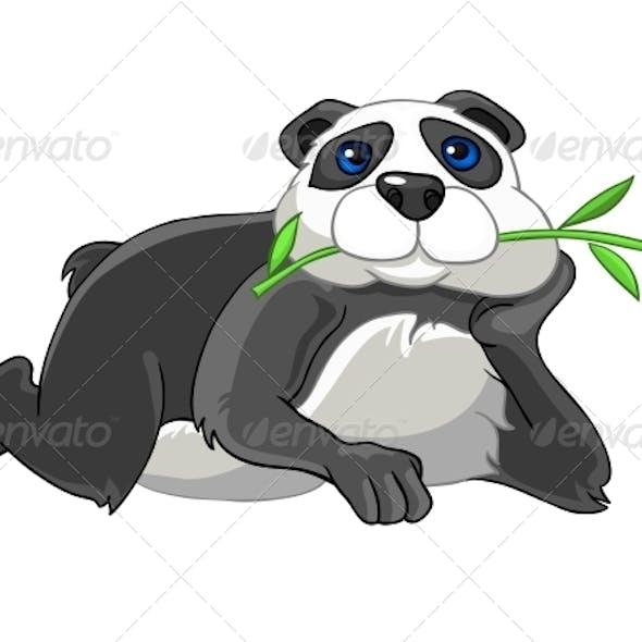 Cartoon Character Panda