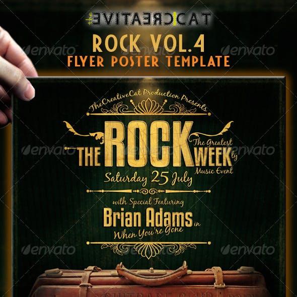 Rock Flyer/Poster Vol 4