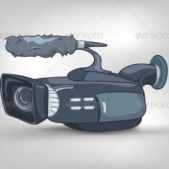 Cartoons Home Appliances Video Camera
