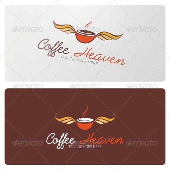 Coffee Heaven Logo Template