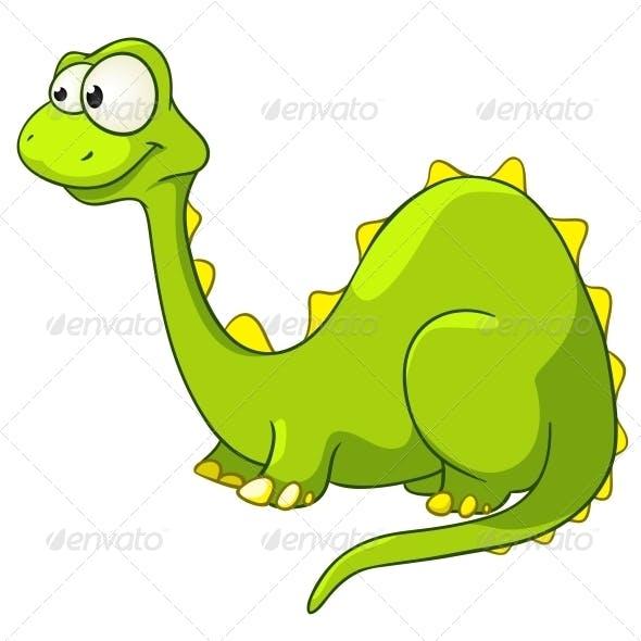 Cartoon Character Dino