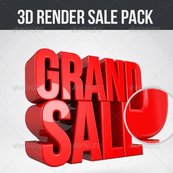 3D Render Sale Pack