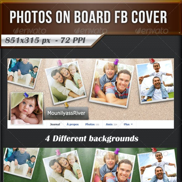 Photos On Board FB Timeline Cover