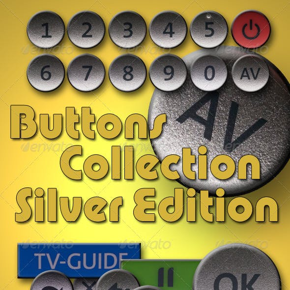 Buttons Collection - Silver Edition