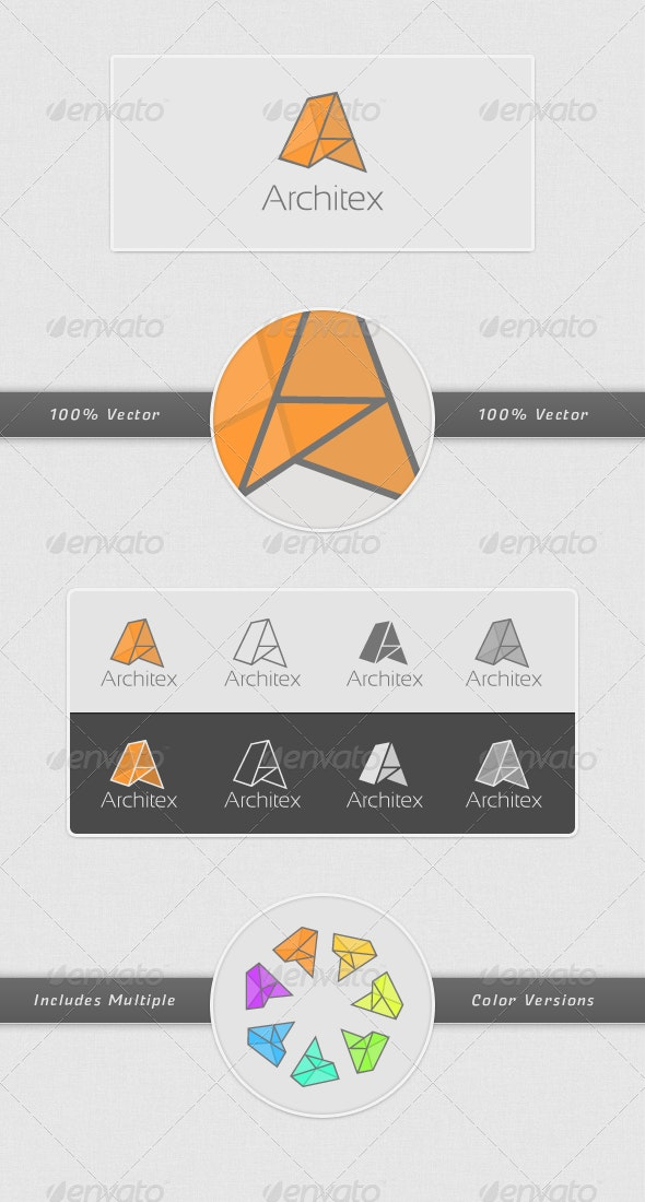 Architex Logo Template - Logo Templates