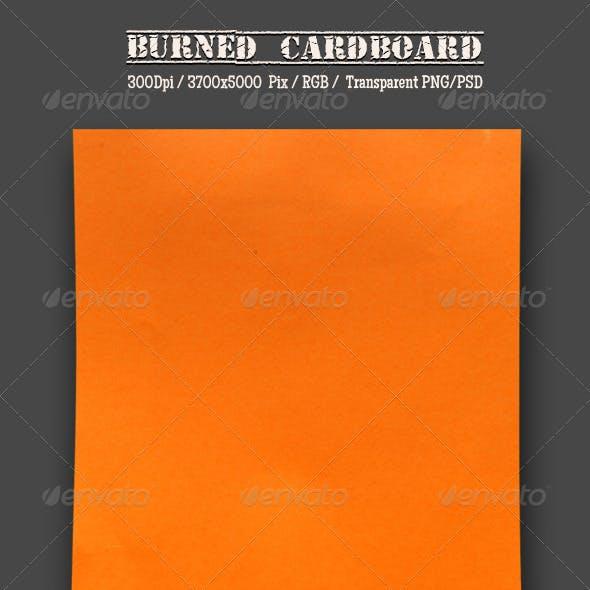 Burnt Cardboard 2