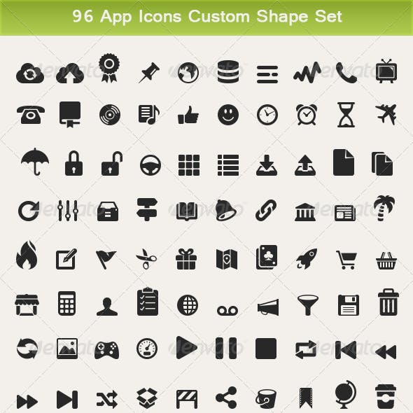 Photoshop Symbols from GraphicRiver