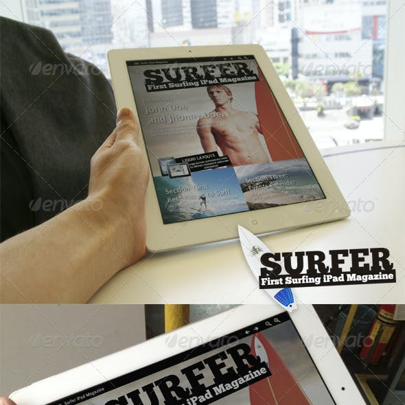 Exclusive Sports iPad Magazine in 4 Resolutions