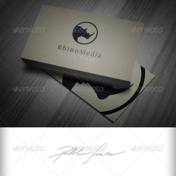 Rhinoceros Logo Templates from GraphicRiver