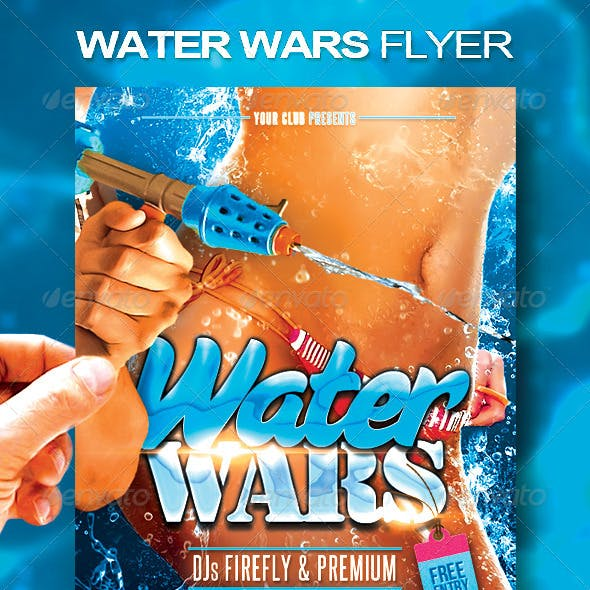 Water Wars Flyer