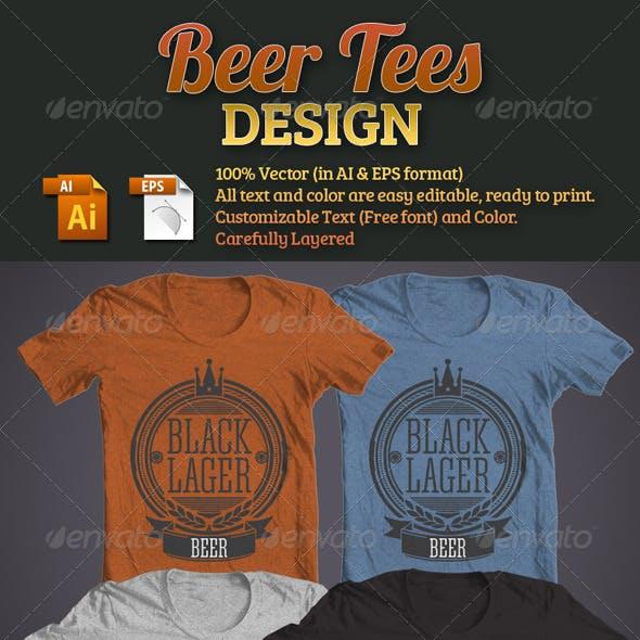 Beer Tees Design