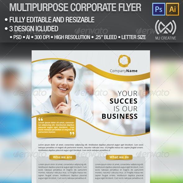 Multipurpose Corporate Flyer Poster