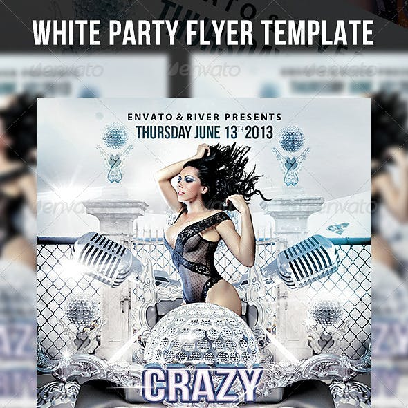 Deluxe White Flyer Template