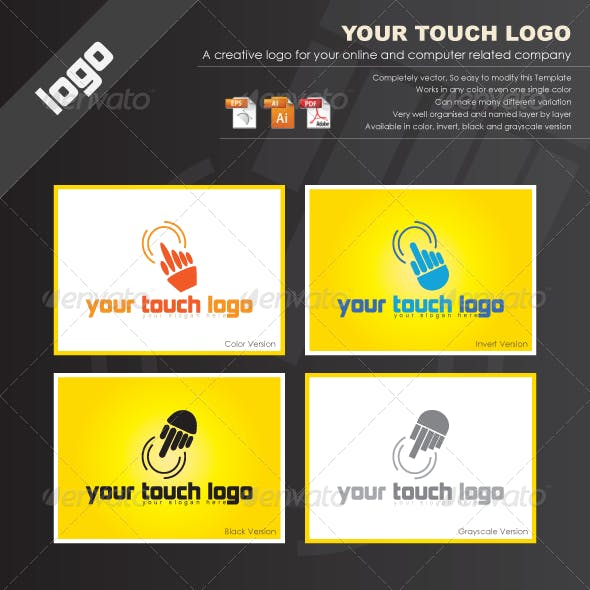 Touch It Logo Templates
